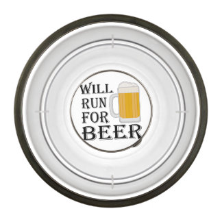 Will Run For Beer Pet Bowl
