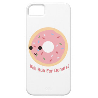 Will Run for Donuts iPhone SE/5/5s Case