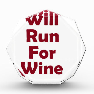 Will run for red wine award
