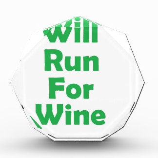 Will run for wine- green awards