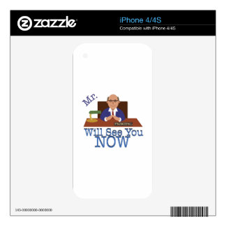 Will See You Now Skin For iPhone 4