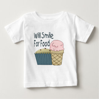 Will Smile for Food Tshirt