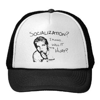 Will Socialization Hurt? Trucker Hat