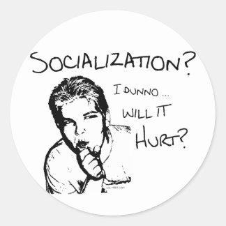 Will Socialization Hurt? Stickers