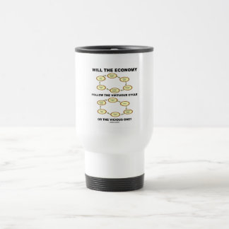 Will The Economy Follow The Virtuous Cycle Vicious 15 Oz Stainless Steel Travel Mug