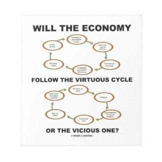 Will The Economy Follow The Virtuous Cycle Vicious Scratch Pads