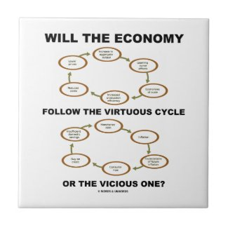 Will The Economy Follow The Virtuous Cycle Vicious Ceramic Tile