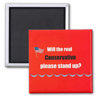 Will the real Conservative please stand up Magnet