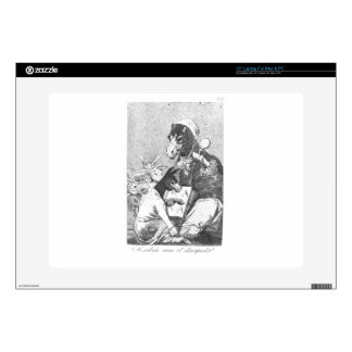 Will the student be wiser? by Francisco Goya Skins For Laptops