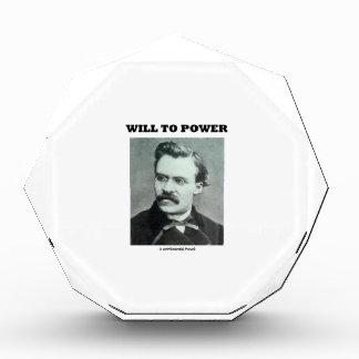 Will To Power (Friedrich Nietzsche) Award