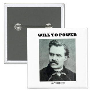 Will To Power (Friedrich Nietzsche) Pin