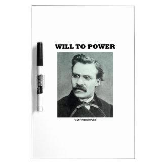 Will To Power (Friedrich Nietzsche) Dry Erase Board