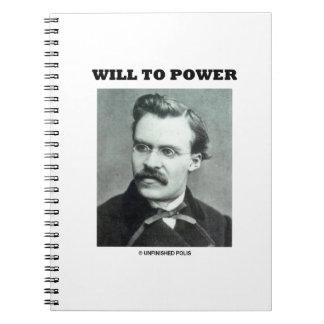 Will To Power (Friedrich Nietzsche) Notebook