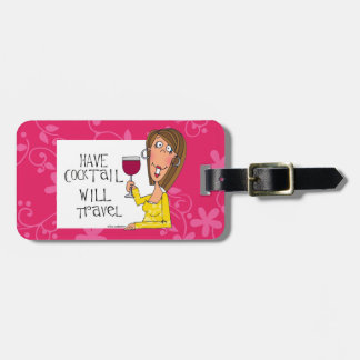 will travel Luggage tag