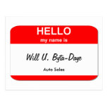 Will U. Byta-Daye Post Cards