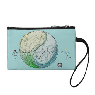 Will we survive? coin purse