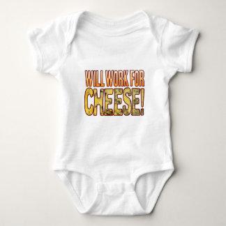 Will Work Blue Cheese Baby Bodysuit