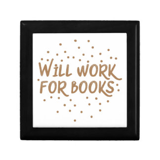 will work for books gift box