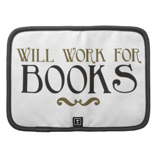 Will Work for Books Planner