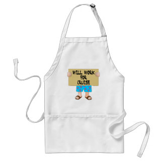 Will Work for Cruise Aprons