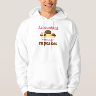 Will Work For Cupcakes Accountant Pullover