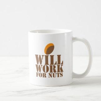Will work for NUTS Coffee Mug