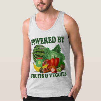Will Work For Organic Fruits and Veggies Tank Top