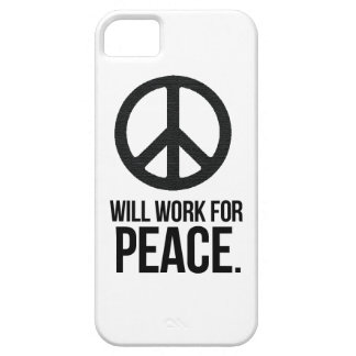 Will Work For Peace iPhone SE/5/5s Case