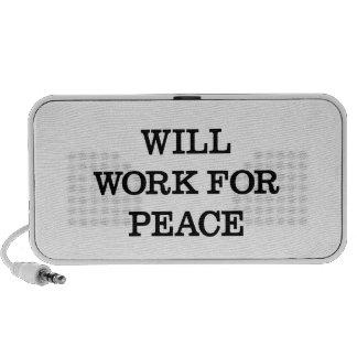 Will Work For Peace Travel Speaker