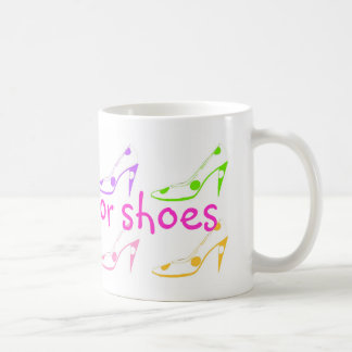 Will Work for Shoes Coffee Mug
