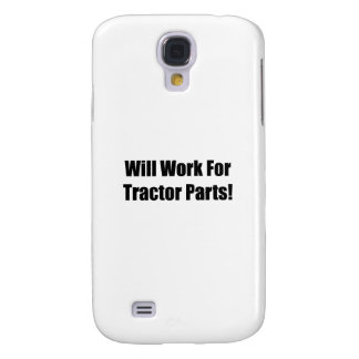 Will Work For Tractor Parts Tractor Gifts By Gear4 Galaxy S4 Case
