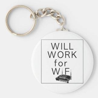 Will Work for WiFi Keychain