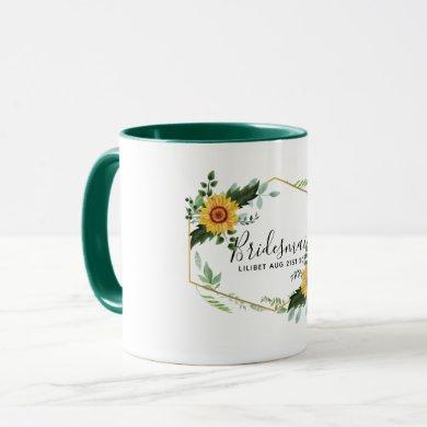 Will You Be Bridesmaid Maid Honor Thank You Mother Mug