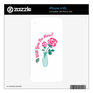 Will You Be Mine? Skins For The iPhone 4S