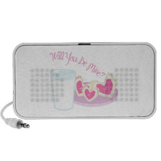 Will You Be Mine? Notebook Speaker