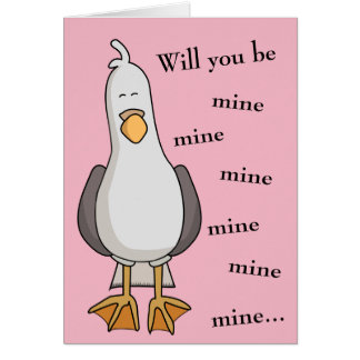 Will You Be Mine? Valentine's Card