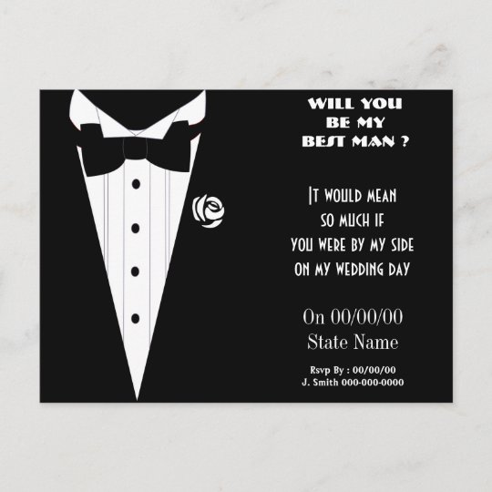 will you be my best man ? be my groomsmen invitation ...