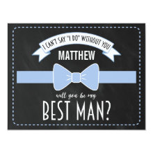 Be My Best Man Wedding Invitations