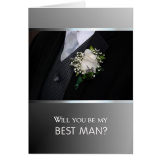 Will You Be My Best Man? Card