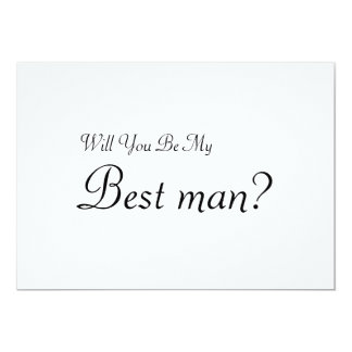 Will You Be My Best man Card