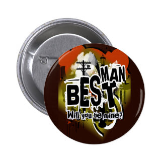 Will you be my best man? Groom request buttons