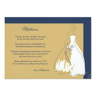 Will You Be My Bridesmaid #3 Card