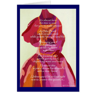 Will You Be My Bridesmaid Autumn Card TBIA Award