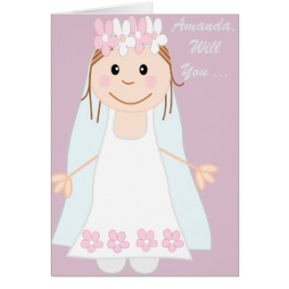 will you be my bridesmaid ? be my bridesmaid card