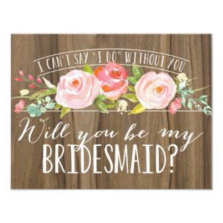 Will You Be My Bridesmaid | Bridesmaid Card