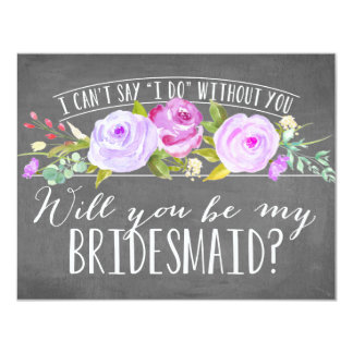 Will You Be My Bridesmaid | Bridesmaid Card