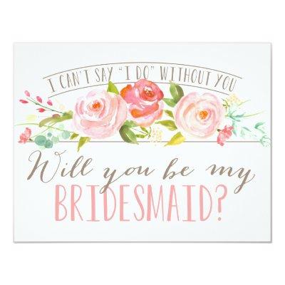 will you be my bridesmaid bridesmaid card zazzle com