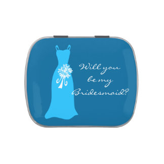 Will you be my Bridesmaid? Jelly Belly Candy Tins