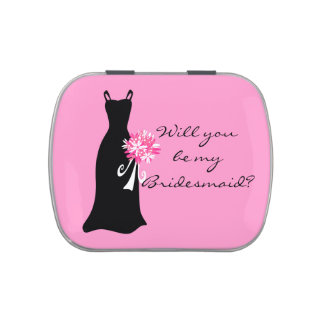 Will you be my Bridesmaid? Jelly Belly Tin