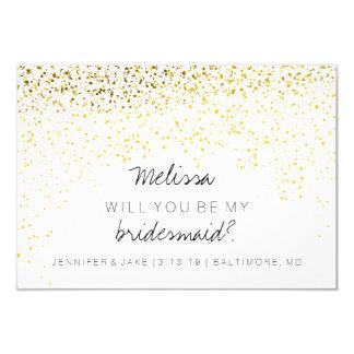 Will You Be My Bridesmaid Card - Confetti Fab